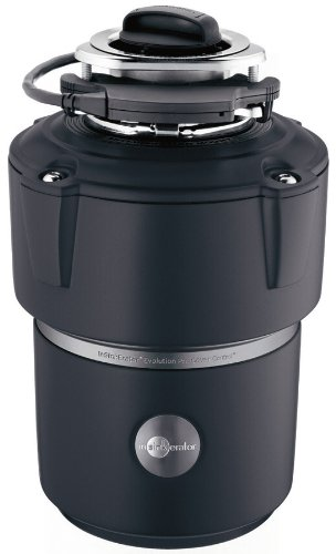 InSinkErator Garbage Disposal, Evolution Cover Control Plus, 3/4 HP Batch Feed