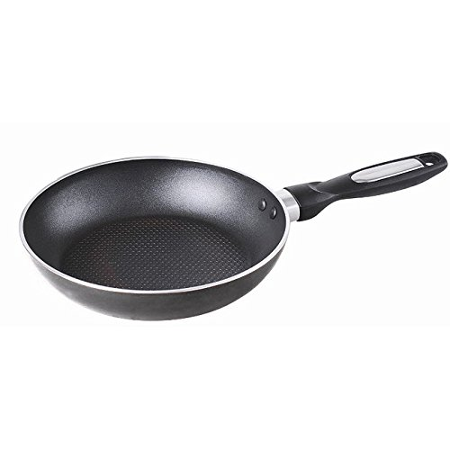 """Gourmet Chef Professional Heavy Duty Induction 10"""" Non Stick Fry Pan - Black"""
