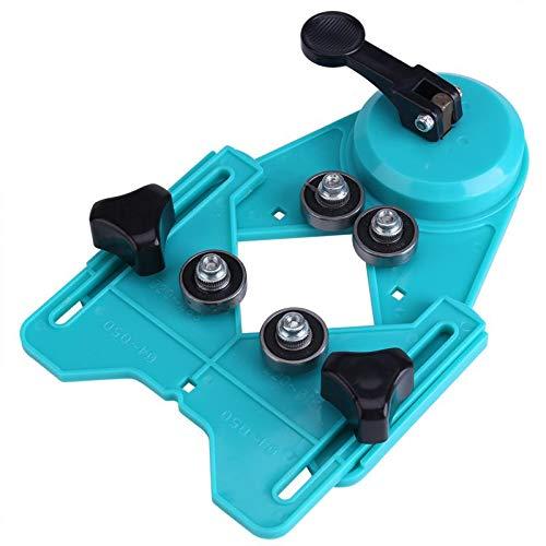 Verstelbare 4mm-80mm Boor Ckeramische Glas Marmer Gat Zaag Gids Zuignap Base Locator Boor Gids