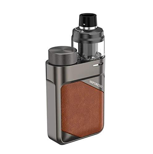 Vaporesso Swag PX80 - Kit de 80 W (sin nicotina) (cuero marrón)