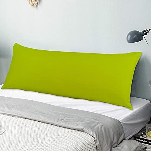 Funda de almohada para el cuerpo Tema de primavera de color de sombra en tonos pastel Funda de almohada larga de 50 cm x 135 cm, suave y acogedora, lujosa y sedosa microfibra con cremalleras para