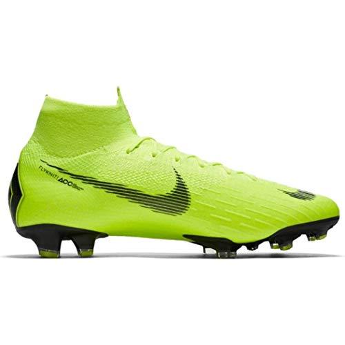 Nike Men's Superfly 6 Elite FG Firm-Ground Football Boot (Volt) (9 Men's US)