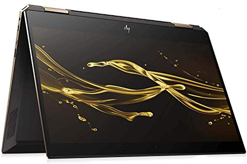 HP Spectre Touch x360 13-ap000 Ash/Gold Convertible Quad Core Intel i7 up to 4.6GHz 16GB + 32GB Optane 1TB SSD 13.3in FHD Gorilla Glass (Renewed)