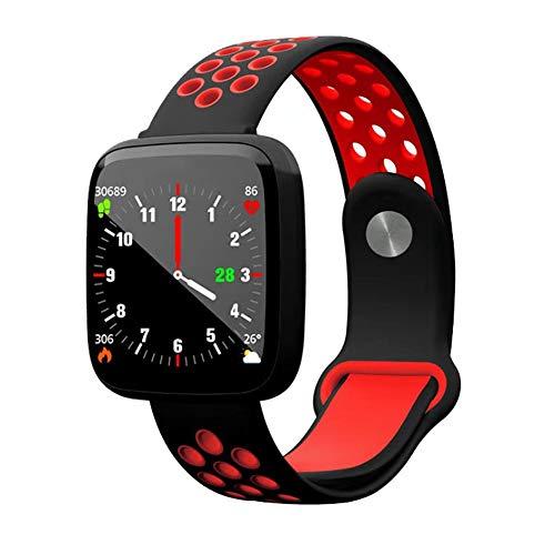 Alvnd Smart Watch, fitnesshorloge, hartslagmeter, smart armband, bloeddrukpedometer, Android iOS armband, C