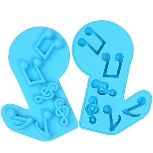 LNLW Silicone Mold for Sugarcraft Cake Decoratie, Cupcake Topper, Polymer Clay, snoep, chocolade, zeep Wax maken Crafting Projects