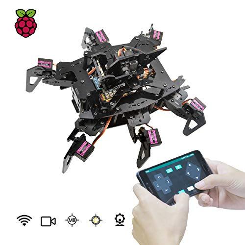 Adeept RaspClaws Hexapod - Kit de Robot de araña para Raspberry...