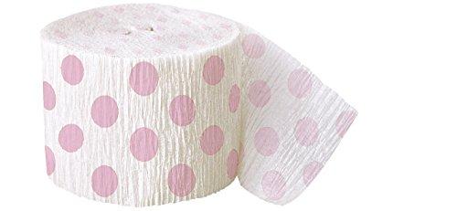 Polka Dot Crepe Streamer Party Supplies