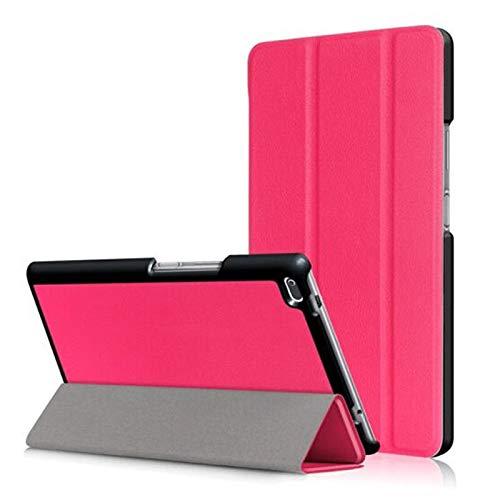 QiuKui Tab Funda para Acer Iconia una de 7.0 Pulgadas, Estuche de tabletas Custer Tri 3 Fold Folio Stand Soporte Funda de Cuero Flip para Acer Iconia One 7 B1-790 B1 790 7.0 Pulgadas