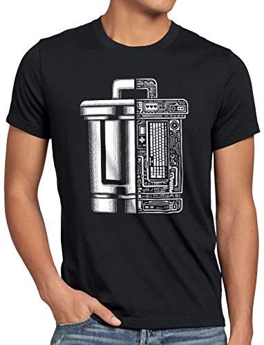 A.N.T. Papelera de Reciclaje Trash Camiseta para Hombre T-Shirt informática Programa, Talla:L