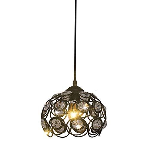ZJN-JN de Techo Iluminación de Interior, Luces Colgantes, Led lámpara de Comedor Moderna Minimalista de una Sola Cabeza/Tres pequeños Araña Decoración (Color : Asingle Head)