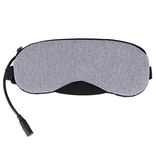 Preisvergleich Produktbild Healifty Usb Dampfaugenmaske Beheizt Augenmaske Tragbar Kalt Und Heiß Usb Beheizt Dampfaugenmaske für Das Büro zu Hause Reisen Grau