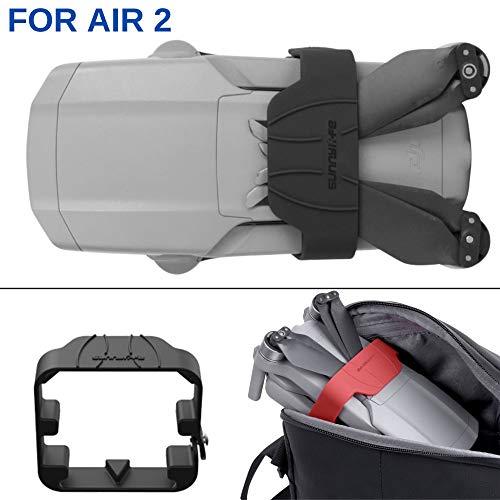 Silikon Propeller Stabilisatoren, verwendbar für DJI Mavic Air 2, Schutz für Propeller, schwarz, passt auch mit Schutz noch in die Original Tasche, Propeller Halterung kompatibel mit DJI Mavic Air 2