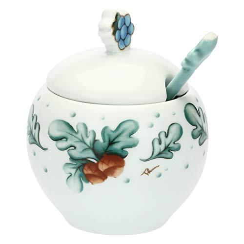 Thun suikerpot van porselein met lepel Preludio Winter Multicolor