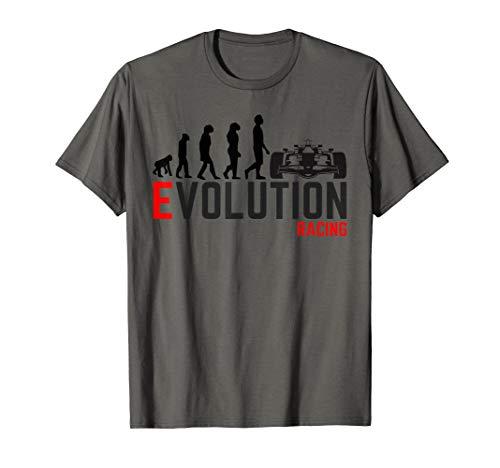 Car Racing shirt Evolution IndyCar F1 Formula 1 T shirt