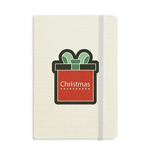DIYthinker Weihnachtsgeschenk Weihnachten Cartoon Icon Notebook Stoff Hard Cover Klassisches Journal Tagebuch A5 A5 (144 X 210mm) Mehrfarbig
