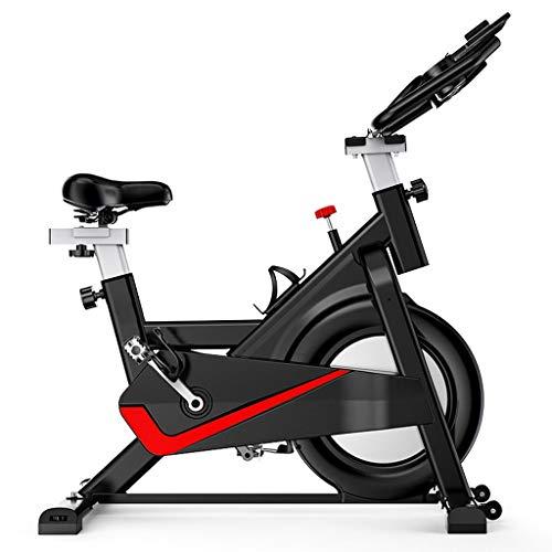 GWXSST Las Bicicletas de Fitness hogar Bicicletas Silent Deportes Bicicletas pérdida de Peso Equipamiento de Fitness Bicicletas Indoor Bicicletas fijas Aerobic Bicicletas (Color : Black)