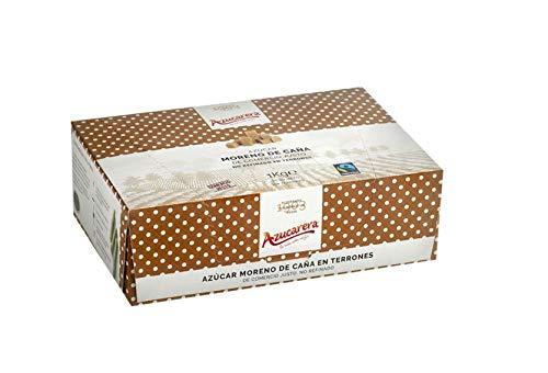 Azúcar moreno de caña integral en terrones caja 1 kg
