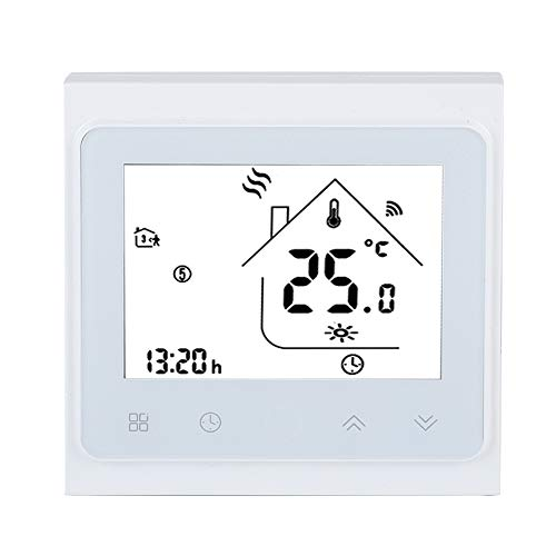 Eboxer LCD-touchscreen WiFi Smart thermostaat temperatuurregelaar voor elektrische vloerverwarming thermostaat