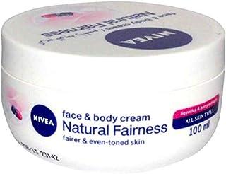 Nivea Natural Fairness Face & Body Cream 100ml