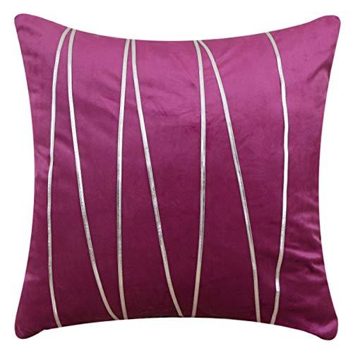 Funda De Almohada Decorativa De Tela para Muebles para El Hogar Funda De Almohada De Color Sólido Cojín para Asiento De Oficina Creativo Cojín para Sofá Almohada