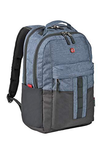Wenger ERO 601688 - Mochila para portátil de 16', Compartimento Acolchado para portátil con Compartimento para Tablet, Color Azul {20 litros