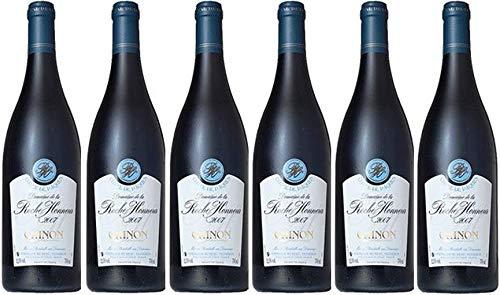 Chinon Bio 2018 - AOC Rotwein von 6 Flaschen à 75 cl.