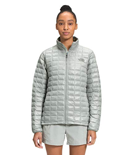 The North Face Women's Thermoball Eco Insulated Jacket - Fall or Winter Coat, Wrought Iron Surreal Sky Print, 3XL