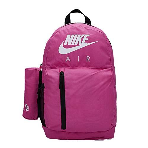 Nike Air Elemental - Mochila de 22 l, para escuela, gimnasio, bolsa de deporte, para mujer, color rosa, morado y morado