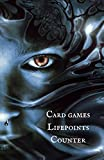 Card games Lifepoints Counter - 60 white pages, fantasy cover, for all card games