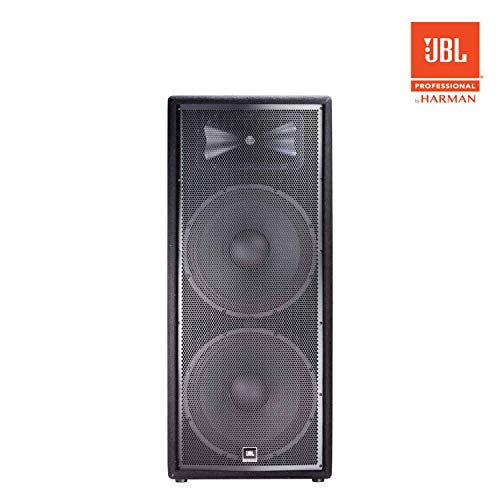 JBL Professional JRX225 Portable 3-way Sound Reinforcement Loudspeaker System, Dual 15-Inch