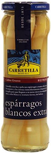 Carretilla - Espárragos Blancos Extra - 345 g