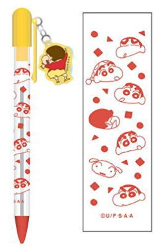 クレヨンしんちゃん クリアボールペン(しんちゃん総柄)