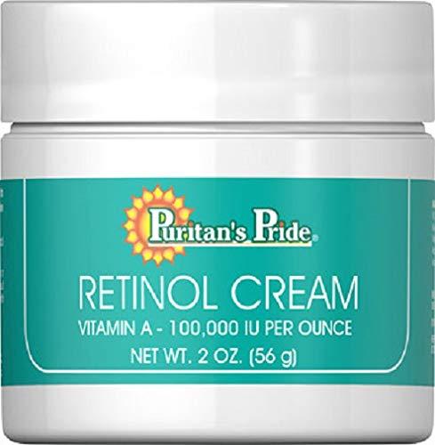 Crema Retinol Vitamina A 100.000 UI por onza 2 oz, antiarrugas … PURITAN'S PRIDE