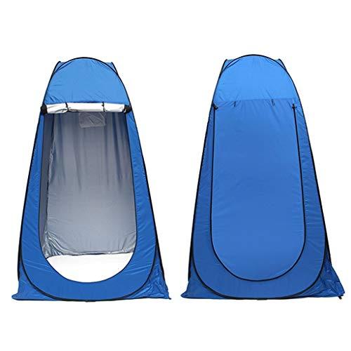 Tiendas de campaña Aparaminación Embalaje Embalaje Al Aire Libre Camping Ducha Tienda Simple Herramientas de Vestido Tienda de Tienda Herramientas de Supervivencia Kits de Viaje (Color : Blue)