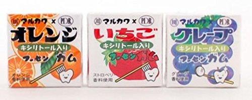 キシリトール入り マーブルガム 4粒×24個 歯科医院専売 (MIX (各8箱))