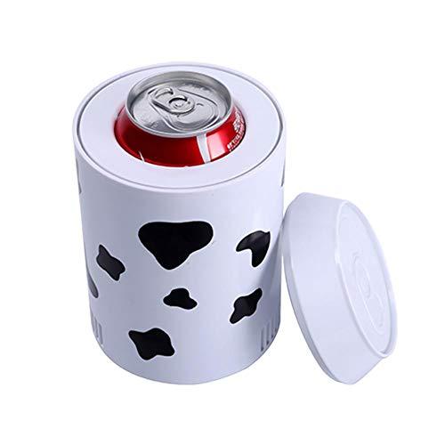 Brownrolly Frigorifero Portatile per Auto, Coca-Cola Mini frigo Frigorifero USB, Refrigeratore per Bevande Serbatoio di Raffreddamento per la Scuola da Camera da Ufficio