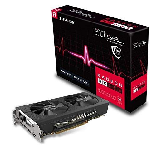 VGA SAPPHIRE RX580 Pulse 4GB GDDR5 2XDP+2XHDMI+1XDVI 8P Back Plate 11265-10-20G