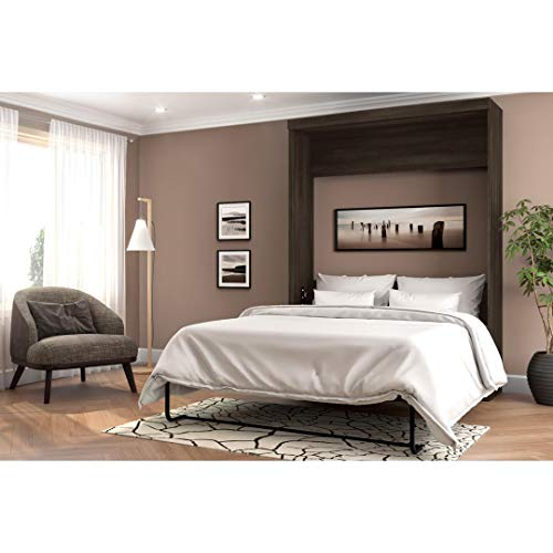 A wall bed or murhpy bed is a perfect space saving bed for small bedrooms