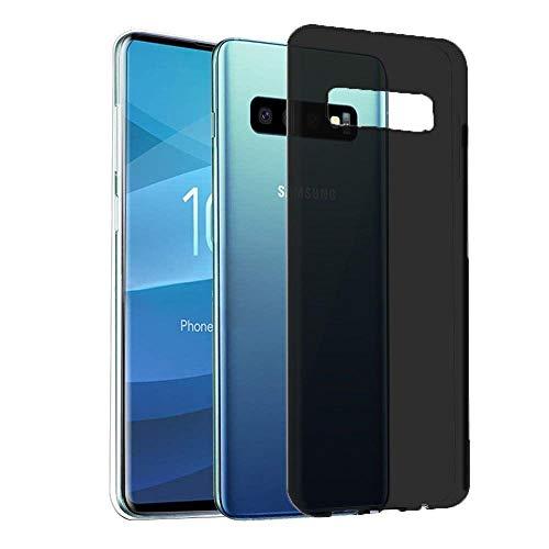 """Capa Capinha Para Samsung Galaxy S10e Tela 5.8"""" Polegadas Capinha Transparente Clear Ultra Fina Silicone - Danet (Preto Fumê)"""