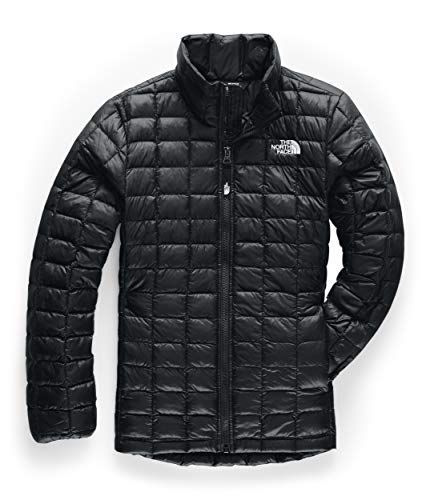 The North Face Girls' ThermoBall Eco Jacket, TNF Black, L