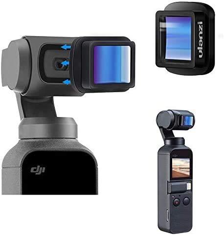 Taoric 1,33 X Magnetische anamorphotische Filmlinse für DJI OSMO Pocket Kamera