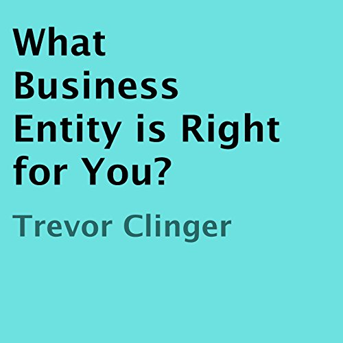 What Business Entity Is Right for You? audiobook cover art