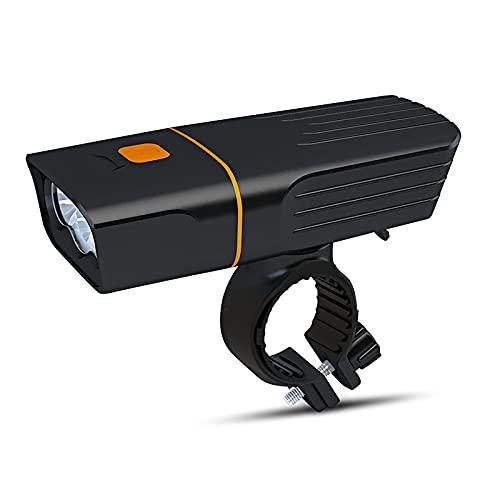 FGKLU USB Wiederaufladbar Fahrradlampe Vorne Fahrradlicht, 1800 Lumen Fahrradzubehör, 2400 mAh LED Fahrradbeleuchtung, für Mountainbike und Rennrad