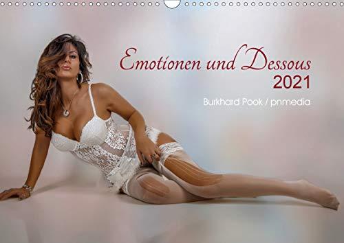 Emotionen und Dessous (Wandkalender 2021 DIN A3 quer)