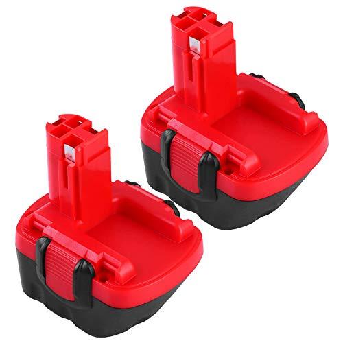 GatoPower 2x BAT043 3.0Ah Ni-MH Reemplazo para Bosch 12V Batería BAT045 BAT120 BAT139 2607335542 2607335526 2607335274 2607335709