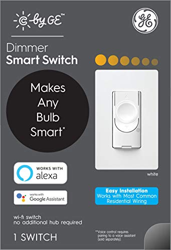 C by GE 3-Wire Smart Dimmer Switch