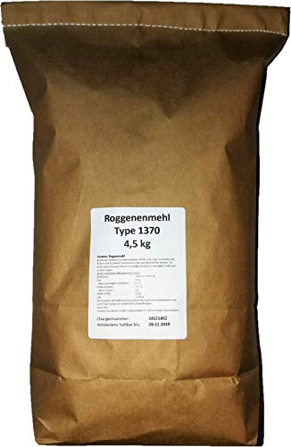 4,5 kg Roggenmehl Type 1370