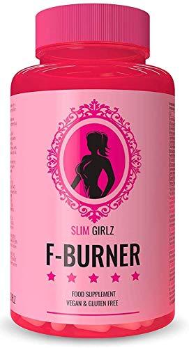 Slim Girlz Fat-Burner | 60 Cápsulas Para Adelgazar | Quemador de Grasa Para Mujeres | 10 Ingredientes Activos Para Pérdida de Peso| Adelgazante Vegano Para Dieta Keto Sin Estimulantes |Hecho en la UE