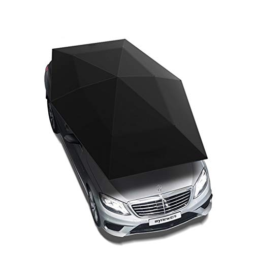 4.8M plegable impermeable for toldo automático de coches paraguas del coche ULTRAVIOLETA de cubierta techo de la tienda paraguas del coche de embalaje de protección Alfombrilla ( Color Name : HH )