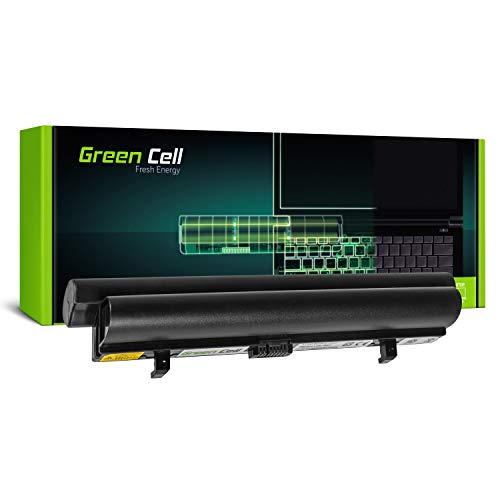 Green Cell Standard Serie L08C3B21 Laptop Akku für Lenovo IdeaPad S9 S9e S10 S10e S10C S12 (6 Zellen 4400mAh 11.1V Schwarz)